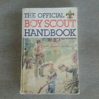 1988 N Boy Scout Handbook Vintage Boy Scouts of America BSA Book Norman Rockwell
