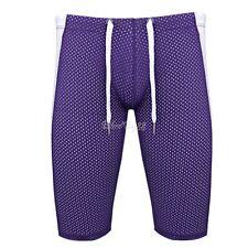 Mens Comfort Sports Underwear Compression Stretch Boxer Brief Breathe Gym Shorts