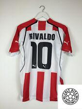 OLYMPIAKOS RIVALDO # 10 05/06 Home Football Shirt (L) SOCCER JERSEY PUMA