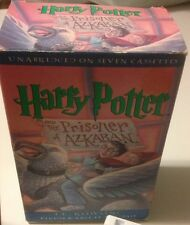 Harry Potter and the Prisoner of Azkaban by J. K. Rowling On Cassette Tapes