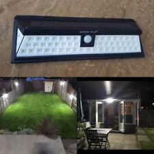 54 LED BRIGHT SOLAR PIR MOTION SENSOR SECURITY WALL LIGHT OUTDOOR GARDEN LIGHT