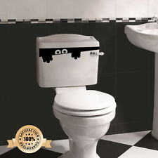 Inodoro Monster Baño Adhesivo Divertido vinilo decorativo de pared