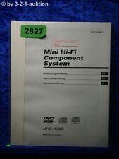 Sony Bedienungsanleitung MHC WZ8D Component System (#2827)