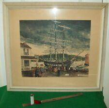 LISTED ARTIST, H.GILBERT FOOTE,VINTAGE LIMITED ED. LITHOGRAPH