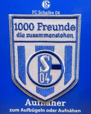 Aufnäher Aufbügler FC Schalke 04 1000 Freunde die zusammenstehen Lizenzware #31