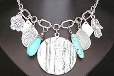 Turquoise Charm Costume Necklaces & Pendants