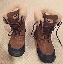 Women's Ugg Adirondack Brown Snow Boots 8.5