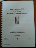 ASTON MARTIN DB5 PARTS MANUAL CATALOGUE REPRINTED A4 COMB BOUND