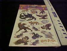 Harry Potter Stickers Creatures  Warner Bros Licensed Cat Owl Dragon