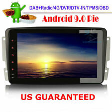 Android 9.0 DAB+Auto Radio Stereo GPS Sat Nav For Mercedes A-Class W168 CLK C209