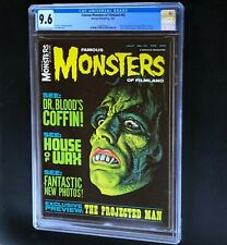 FAMOUS MONSTERS of FILMLAND #45 💥 CGC 9.6 NM+ 💥 Rare! Warren Magazine 1967