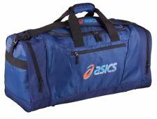 ASICS Bag Sports Team Gym Duffle Bag Holdall Travel Kit Bags Medium - Blue