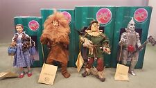 The Wizard Of Oz Kurt S Adler Fabric Mache Figures Green Boxes 1999