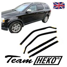 VOLVO XC90 2002-2014 wind deflectors 4pc set HEKO TINTED RAIN GUARDS