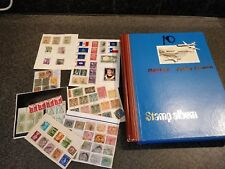 Collection of Stamps in 1 big album and loose