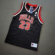 100% Authentic Michael Jordan Vintage Champion Bulls Jersey Size L 14 16 Boys