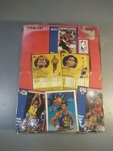 1991 Fleer Basketball Box 5 Michael Jordan Cards, 503 Cards Total Mint