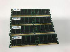 8gb (4 X 2gb) pc2-3200r ddr2-400 Ecc Reg Server Memory