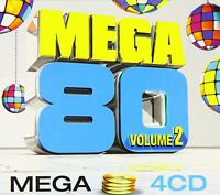 Compilation 4xCD Mega 80 - Vol.2 - France (EX/EX)