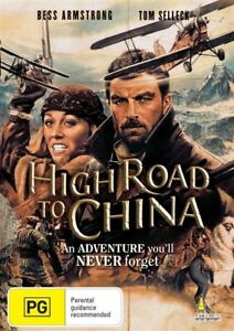 HIGH ROAD TO CHINA - TOM SELLECK - NEW & SEALED REGION 4 DVD