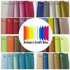 20 x 22cm Premium PU faux Leather fabric Sheet Shiny Craft Hair Bows UK Seller