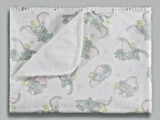 Disney Baby Unisex Boys Girls Dumbo Cot Pram Fleece Blanket
