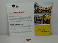 1911 Marmon Wasp Pennziol Hero Card IndyCar Indianapolis 500 Ray Harroun