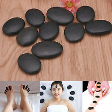 WELL 7PCS Lot Hot Spa Rock Basalt Stone Beauty Stones Massage Lava Natural Stone