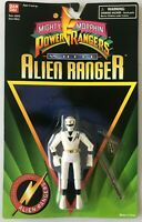 Mighty Morphin Power Rangers White Alien Ranger Action Figure Bandai 1995 NEW