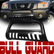 Black Heavyduty Bull Bar Brush Bumper Grill Grille Guard Fit 04-15 Titan/Armada
