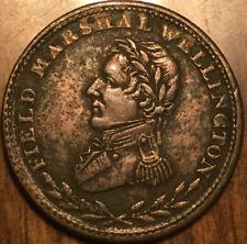 1813 LOWER CANADA FIELD MARSHAL WELLINGTON HALFPENNY TOKEN - Breton 969