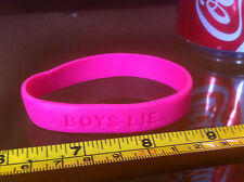 Boys Lie Girls Girl Rubber Wrist Band Fun Choose A Colour from 2nd Pic
