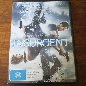 Insurgent  DVD R4 Like New! FREE POST