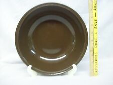"""Mikasa china FORECAST BROWN large 9 1/2"""" mixing vegetable soup bowl D6800 NICE!"""