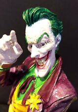 """JOKER One-of-a-kindCustom Hand-Painted Figurine Statue. About 13.5"""" High"""