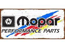 NEW Mopar Performance Tin Metal Sign