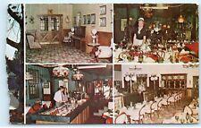 The Station Steakhouse Restaurant 4940 Peach Street Erie PA Vintage Postcard B83
