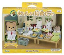 Sylvanian Families school and kindergarten delicious lunch set S-57 From Japan