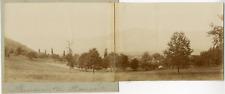 Suisse, Panorama de Baumgarten, ca.1900, vintage citrate print Vintage citrate p