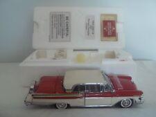 Danbury Nuovo di zecca 1957 MERCURY Turnpike Cruiser 1/24 Nuovo di zecca & Boxed