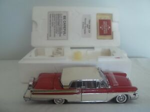 Danbury Mint 1957 Mercury Turnpike Cruiser 1/24 Mint & Boxed