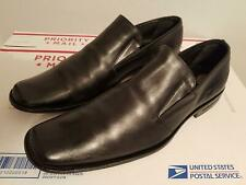 Christian Dior Men's Black Leather Loafers Shoes Size 42 Italy