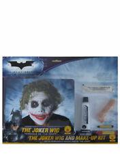 Accesorio Disfraz Caballero Oscuro, Para Hombre Batman Joker peluca y maquillaje Kit Estilo 3