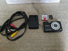 Sony Cyber-shot DSC-W220 12.1MP Digital Camera - Black