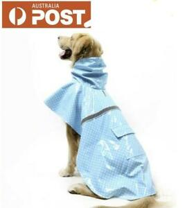Dog Raincoat Waterproof Outdoor pet Doggie Rain Coat Rainwear Clothes Raincoat