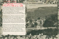 Ansichtskarte Pforzheim Pforte des Schwarzwaldes 1917  (Nr.929)