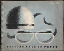 Shell & BP Achievements 1934 Performance is Proof Motor Racing Car & Motorcycle