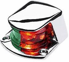 Red/Green Bi-Color Boat Navigation Bow Front Light