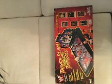 WWF WWE Wrestling Power Slam Electronic Pinball Vintage Mit 5 Figuren Sound