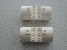 Lego 30360 # 2x Triebwerk 3x6x2 Weiß Weiss 10212 7166